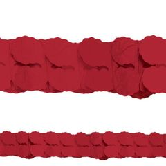 Red Paper Garland, 12'