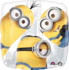 Despicable Me Group Mylar 18in