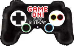 Game On! Controller Birthday Super Shape Balloon 36""