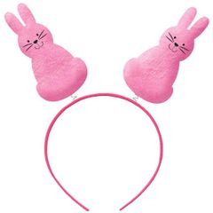 Bunny Silhouettes Headbopper - Pink