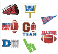 Football Tattoo Favors