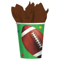 Football Fan Cups, 9 oz.