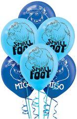 SMALLFOOT™ Printed Latex Balloons, 6ct