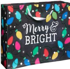 Twinkle Lights X-Large Horizontal Bag w/ Gift Tag