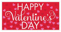 Valentine's Large Horizontal Banner