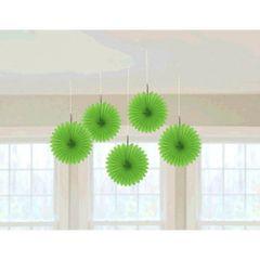 Kiwi Mini Hanging Fan Decorations