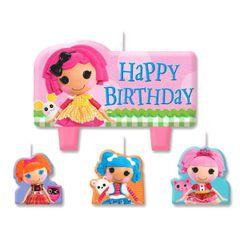 Lalaloopsy Birthday Cake Candle Set