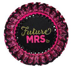 Sassy Bride Deluxe Button