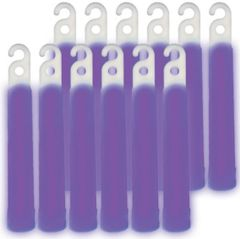 "4"" Purple Glow Stick Necklaces 12ct"