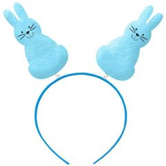 Bunny Silhouettes Headbopper - Blue