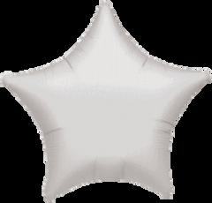 Star 03 Silver Mylar Balloon 18in