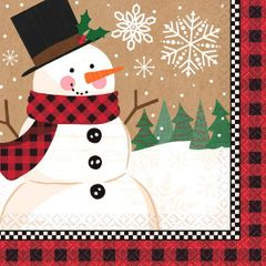 Winter Wonder Dinner Napkin