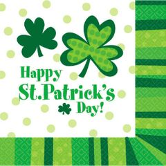 St. Patrick's Day Cheer Luncheon Napkins