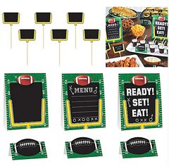Football Buffet Decorating Kit