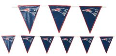 New England Patriots Pennant Banner, 12ft