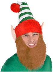 Elf Hat w/Beard