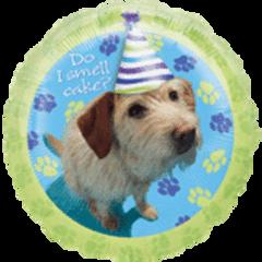 Party Pups Birthday Balloon 18in