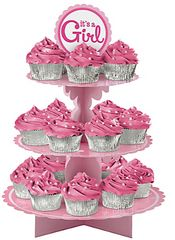 Baby Girl Treat Stand