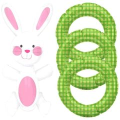 Bunny Inflatable Ring Toss Game