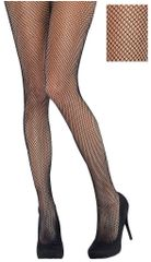 Black Fishnet Stockings - Adult Standard or Plus Size