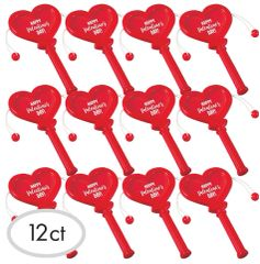 Heart-Shaped Slide Drums, 12ct