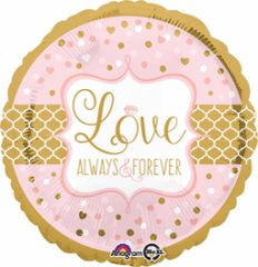 Love Always & Forever 18""