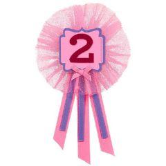 2nd Birthday Girl Award Ribbon