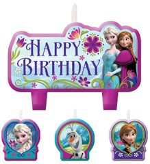 ©Disney Frozen Birthday Candle Set