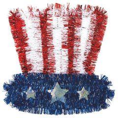 Tinsel Uncle Sam Hat
