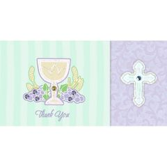 Tiny Twinklers Communion Day Thank You Cards