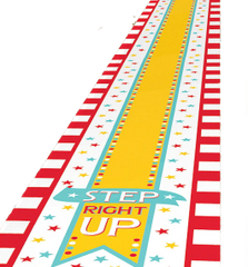 Carnival Floor Runner, 10ft
