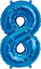 """16"""" NUMBER 8 BLUE – PKG"""