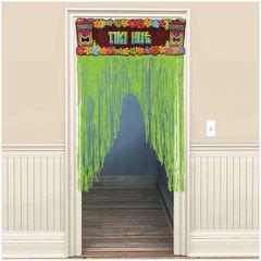 Totally Tiki Door Curtain