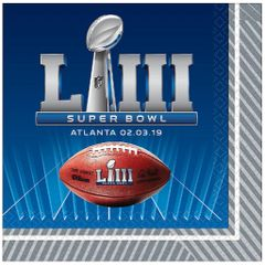 Super Bowl Lunch Napkins, 36ct