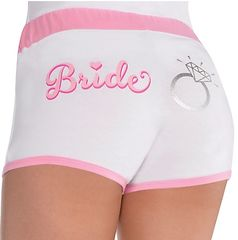 Elegant Bride Shorts, L/XL