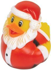 Christmas Santa Rubber Ducky