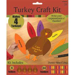 4 Turkeys Craft Kit