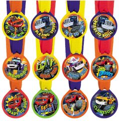 Blaze and the Monster Machines™ Mini Award Medals