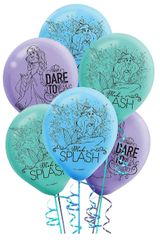 ©Disney Ariel Dream Big Printed Latex Balloons