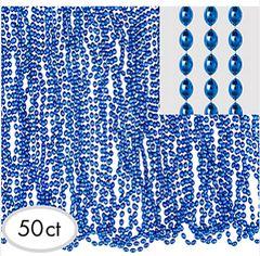 Blue Bead Necklaces, 50ct