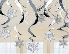 Foil Snowflake Mega Value Pack Foil Swirl
