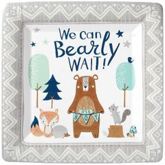"Bear-ly Wait Dinner Plates, 10"" - 8ct"
