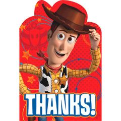 ©Disney Toy Story Power Up Postcard Thank You Cards, 8ct
