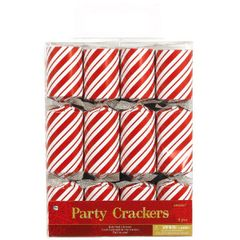 Striped Candy Cane Party Crackers