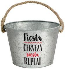 Cinco de Mayo or Fiesta Metal Bucket