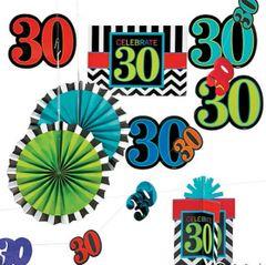 30th Celebration Decorating Kit