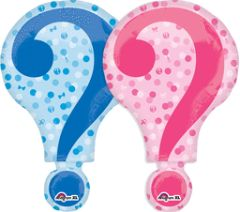Gender Reveal Super Shape Balloon 28""