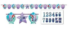 ©Disney Ariel Dream Big Ribbon Letter Banner