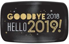 """2019"" Hello Rectangular Platter"