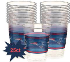 New England Patriots Plastic Cups